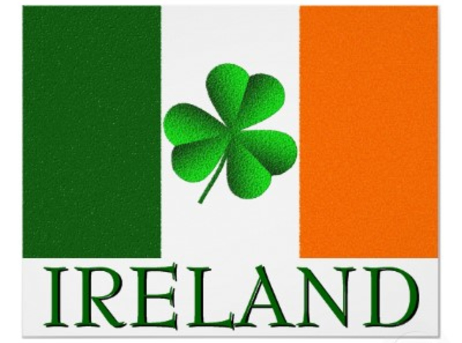 What does irelands flag look like